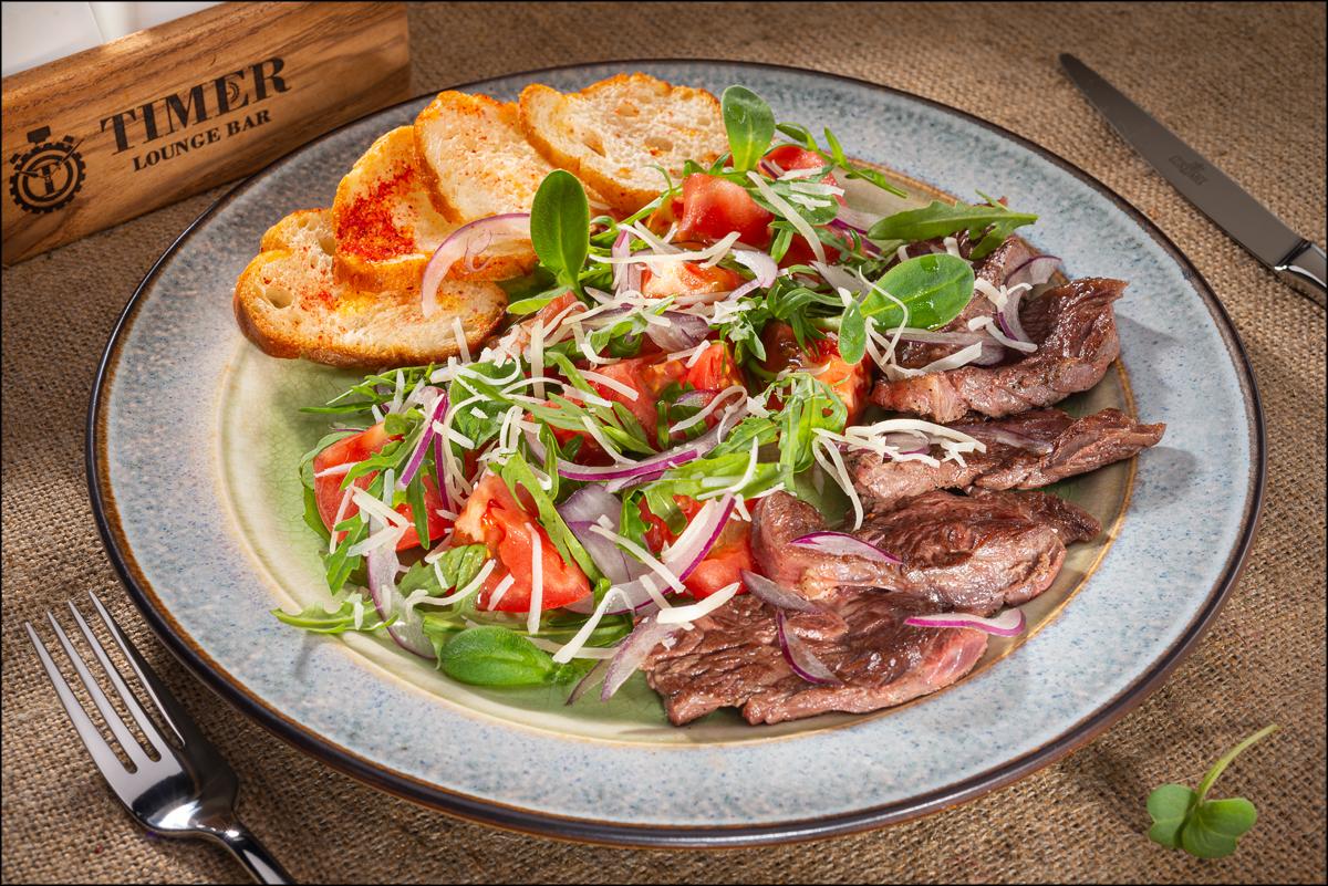 Салат с говядиной Фатуш